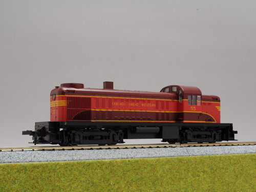 (HO)ALCo RS-2 Chicago Great Western #55