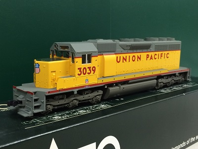 (HO)EMD SD40 Union Pacific #3039