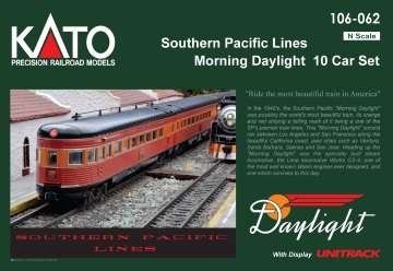 (N)Southern Pacific Daylight SP Lines 10両セット