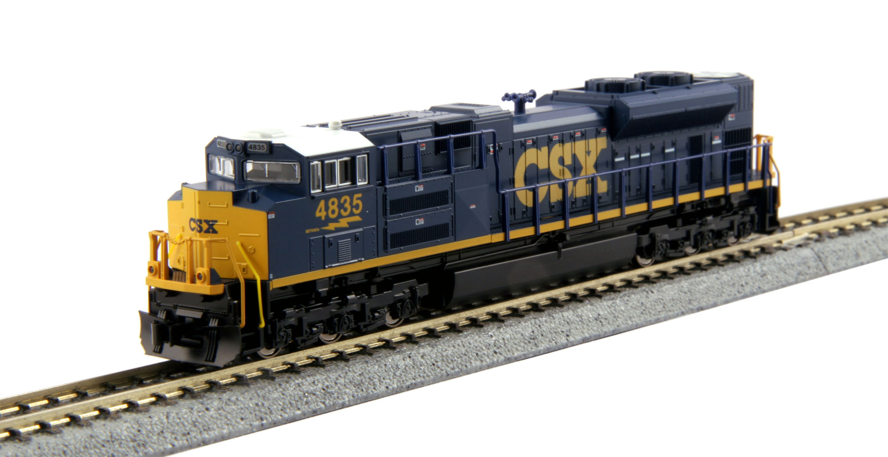 (N) SD70ACe CSX Dark Future #4835