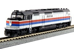 EMD SDP40F Type I  Amtrak Ph II DCC