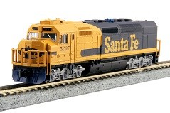 EMD SDP40F Type IVa  AT&SF  DCC