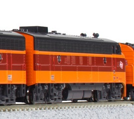 FP7A Milwaukee Road 95C