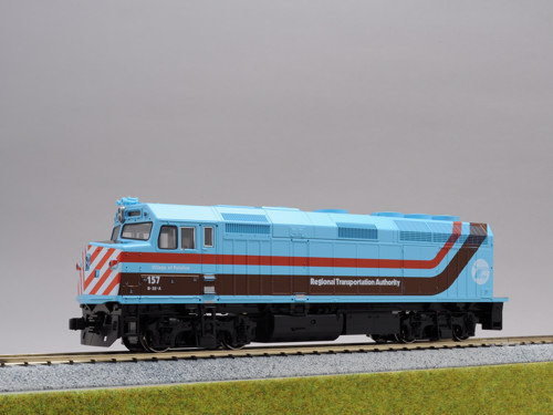 (HO)EMD F40PH Chicago RTA #157